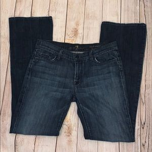 7 for all mankind, high waisted, bootcut